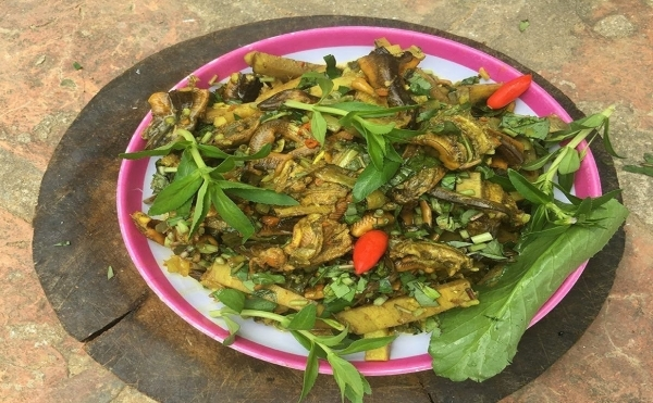 Lươn nấu củ chuối Văn Lôi (Mê Linh)