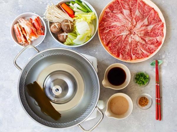 Cách nấu lẩu bò Shabu shabu Nhật Bản